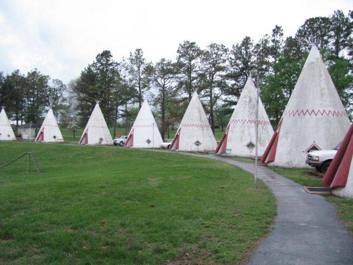 Wigwam Village #2 Kentucky Cave City