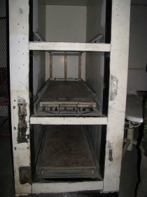 Three body coolers inside the morgue. Waverly Hills only ever had 3 because few autopsies needed to be performed - they knew how people were dying. They only maintained a 17% autopsy rate that was mandated to stay open.