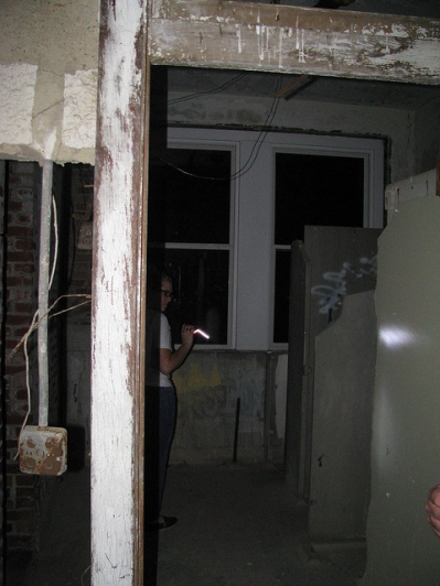 Inside room 502 where two nurses are said to have committed suicide