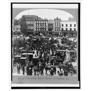 Cheapside Public Square in April 1920