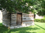 The Patterson Cabin: Built circa 1783, the Patterson cabin was one of the first permanent homes built in Lexington by Robert Patterson who helped to found the city of Lexington.