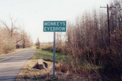 Monkeys Eyebrow, Kentucky