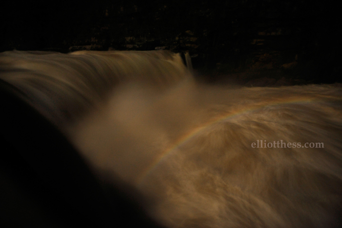 Moonbow at Cumberland Falls in Kentucky