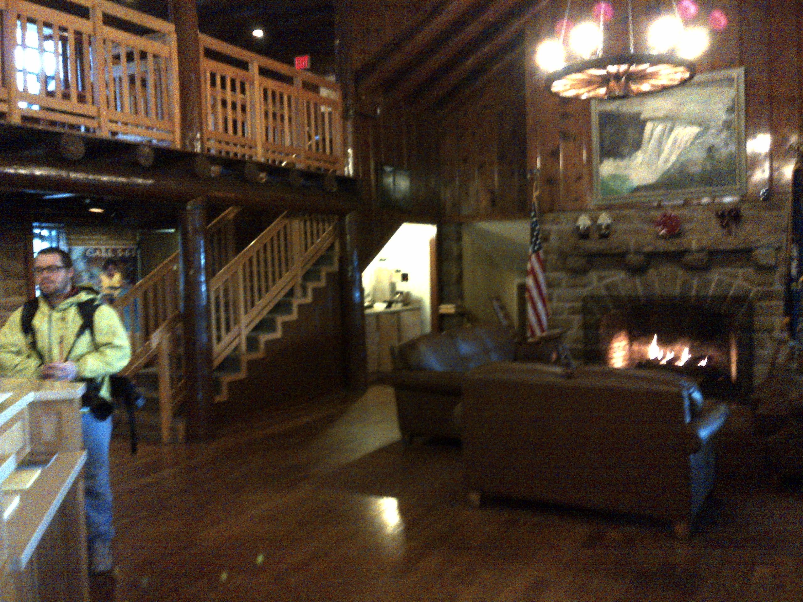 Incroyable ... Kentucky DuPont Lodge, Cumberland Falls State Resort Park, Kentucky