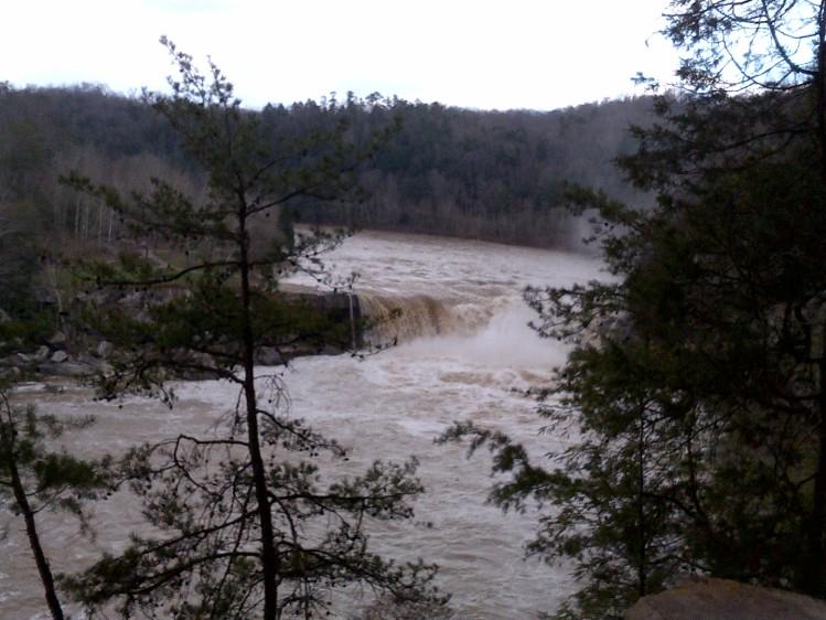 Cumberland Falls, Eagle Falls, Kentucky