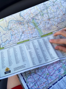 my old kentucky road trip western kentucky map